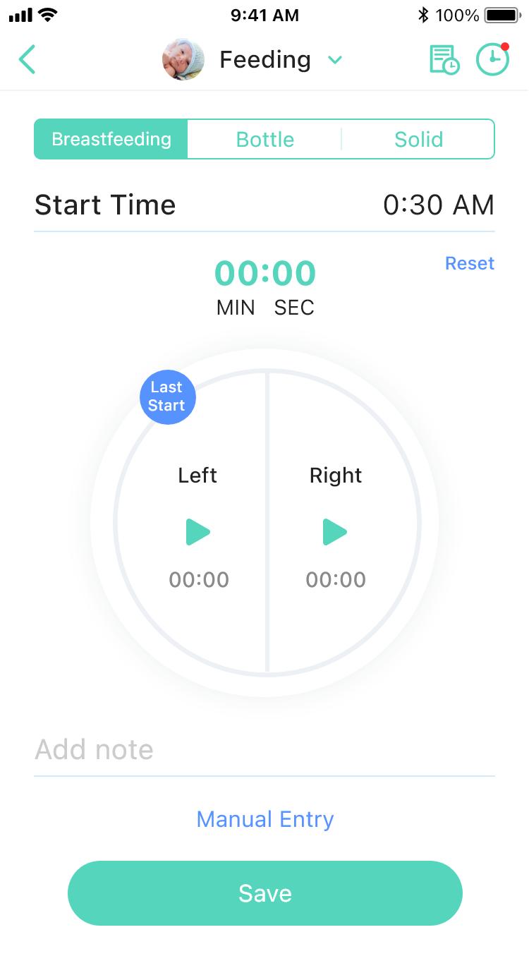 4.2_Feeding(Timer)_Select baby